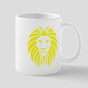 Yellow Lion Mane Small Mug