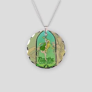 Absinthe Art Nouveau Necklace