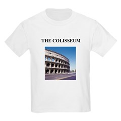 the colisseum rome italy gift Kids T-Shirt