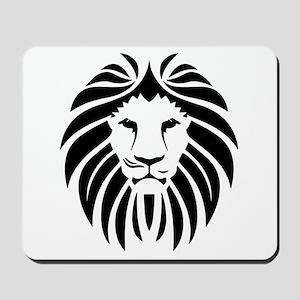 Black Lion Mane Mousepad