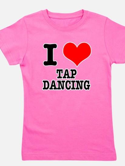 TAP DANCING.png Girl's Tee