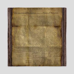 The Declaration of Independence Queen Duvet