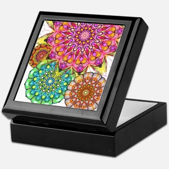 Floral Patten 2 Keepsake Box