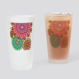 Floral Patten 2 Drinking Glass