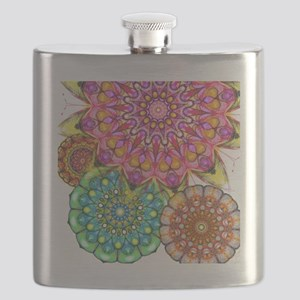 Floral Patten 2 Flask