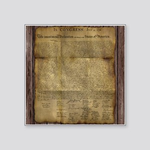 The Declaration of Independence Sticker