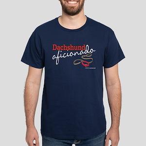 Dachshund Aficionado Dark T-Shirt