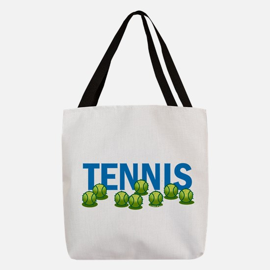Tennis (f) Polyester Tote Bag