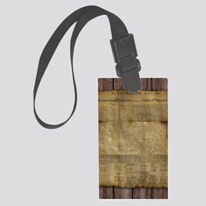 The Declaration of Independence Luggage Tag