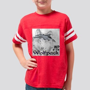 wolfpack4a new Youth Football Shirt