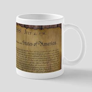 The Declaration of Independence Mug