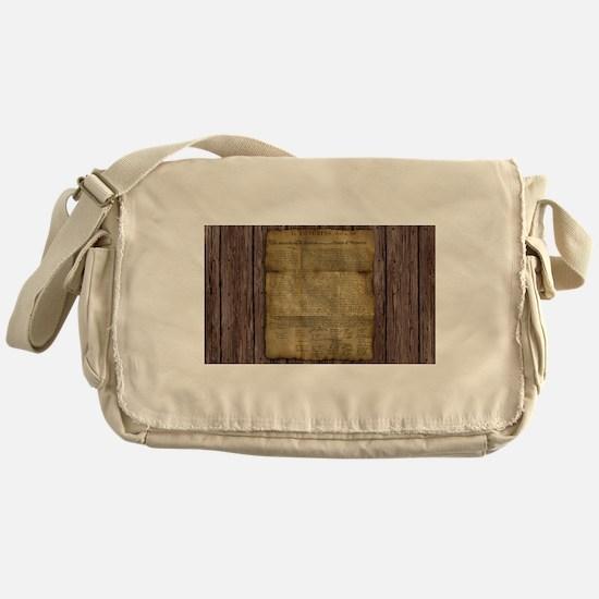 The Declaration of Independence Messenger Bag