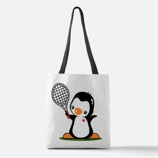 I Like Tennnis Polyester Tote Bag