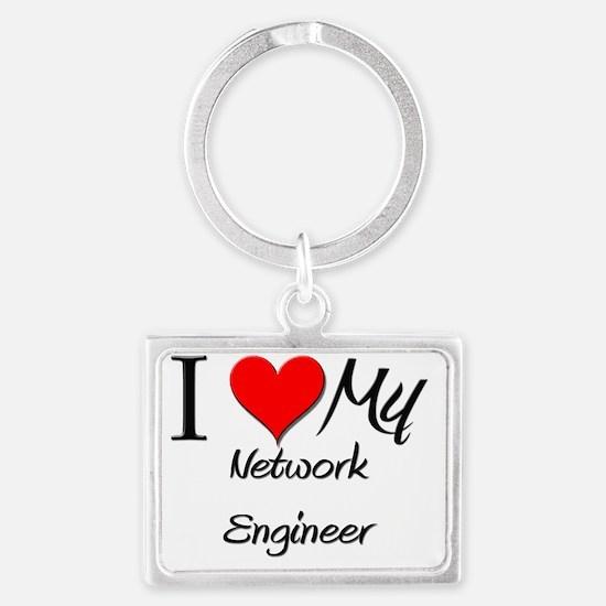 Network-Engineer74 Landscape Keychain