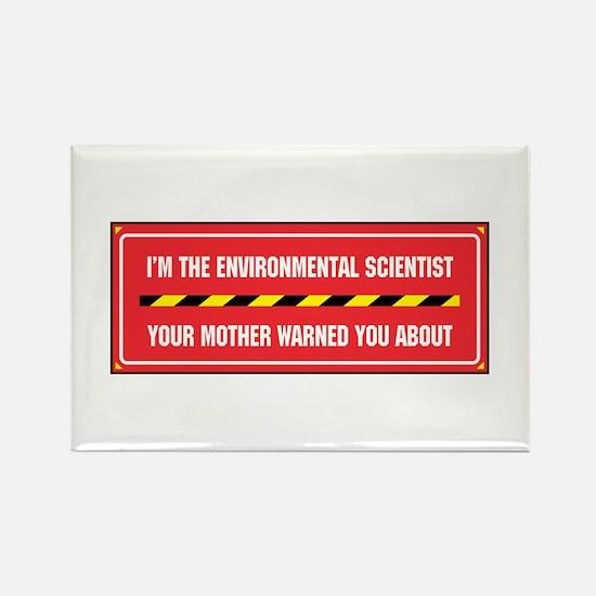 I'm the Env. Scientist Rectangle Magnet