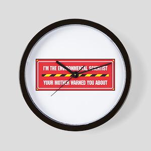 I'm the Env. Scientist Wall Clock