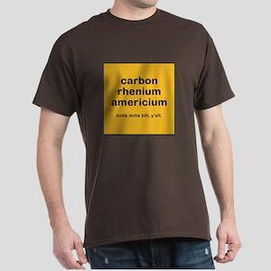 cream chem mens dark t-shirt