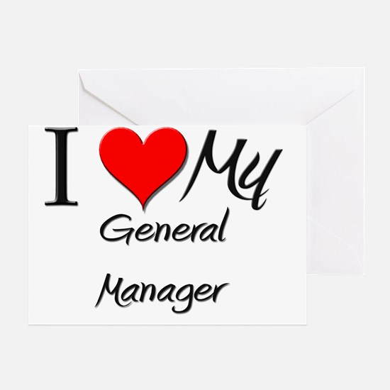 General-Manager63 Greeting Card