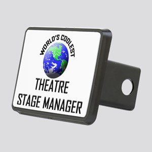 THEATRE-STAGE-MANAGE119 Rectangular Hitch Cover