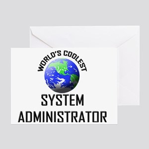 SYSTEM-ADMINISTRATOR44 Greeting Card