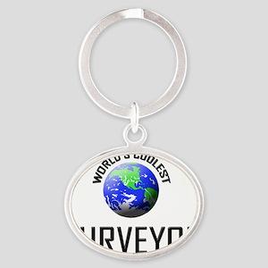SURVEYOR9 Oval Keychain