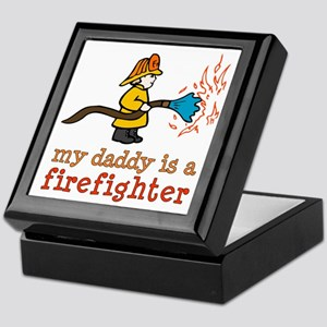 My Daddy is a Firefighter Keepsake Box