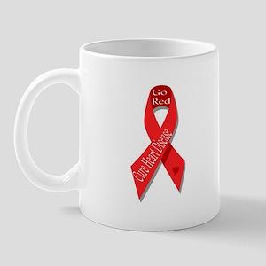Cure Heart Disease (Go Red) Mug