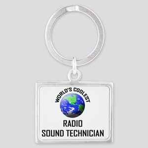 RADIO-SOUND-TECHNICI134 Landscape Keychain