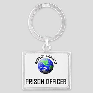 PRISON-OFFICER36 Landscape Keychain