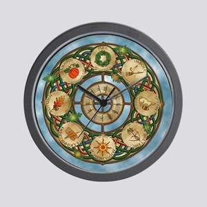 Celtic Wheel of the Year Wall Clock