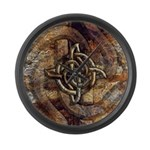 Celtic Rock Knot Large Wall Clock