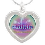 Guanajuato Silver Heart Necklace