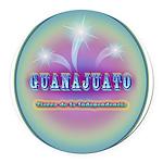 Guanajuato Round Car Magnet