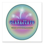 Guanajuato Square Car Magnet 3
