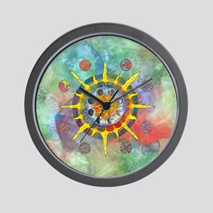 Celtic Stargate Wall Clock