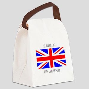 Essex England Canvas Lunch Bag