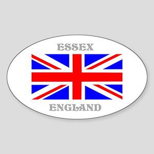 Essex England Sticker (Oval)