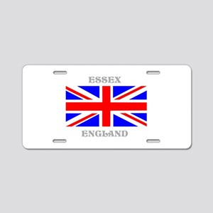 Essex England Aluminum License Plate