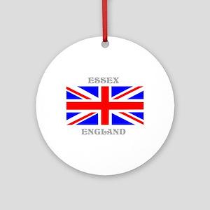 Essex England Ornament (Round)