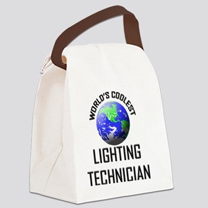 LIGHTING-TECHNICIAN84 Canvas Lunch Bag