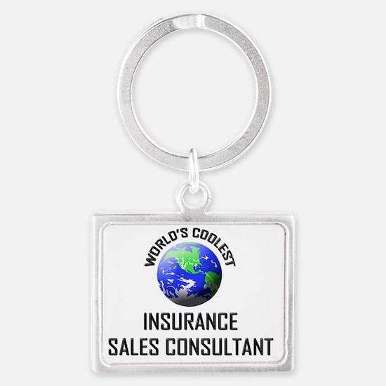 INSURANCE-SALES-CONS70 Landscape Keychain