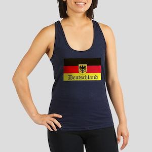 Deutschland Racerback Tank Top
