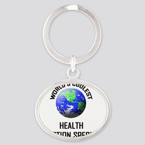 HEALTH-PROMOTION-SPE7 Oval Keychain
