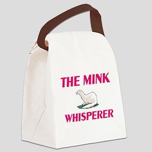 The Mink Whisperer Canvas Lunch Bag