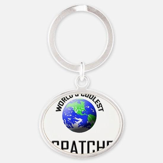 DISPATCHER0 Oval Keychain