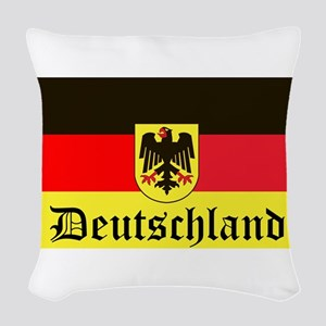 Deutschland Woven Throw Pillow