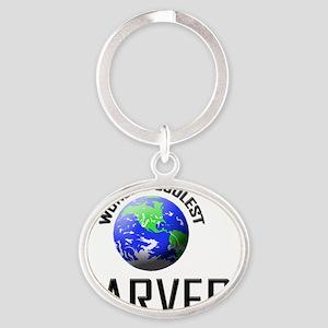 CARVER61 Oval Keychain