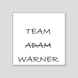 Team Adam Warner Sticker
