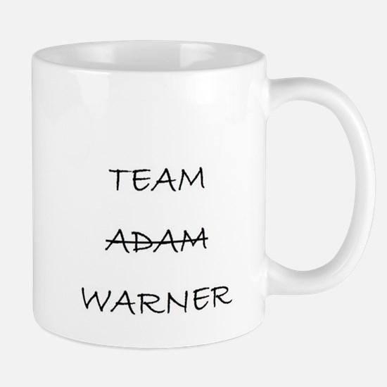 Team Adam Warner Mug