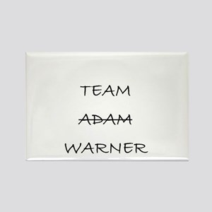 Team Adam Warner Rectangle Magnet